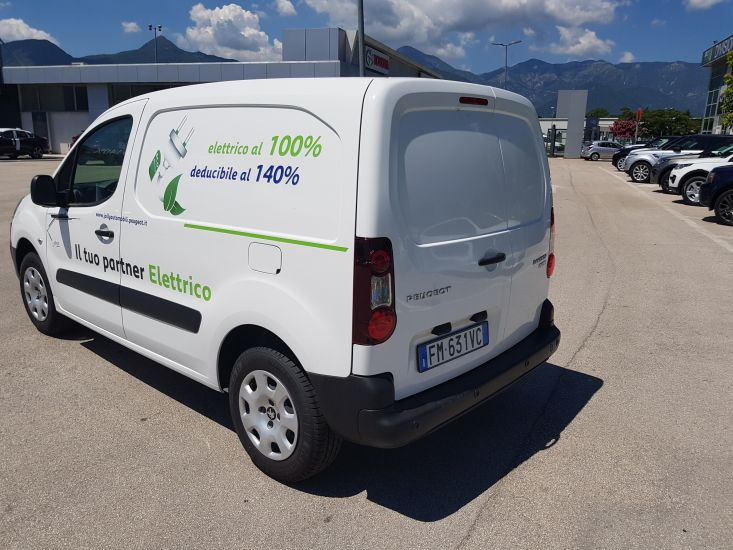 Peugeot Partner Full electric